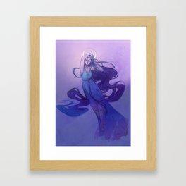Selene - Goddess of the Moon Framed Art Print