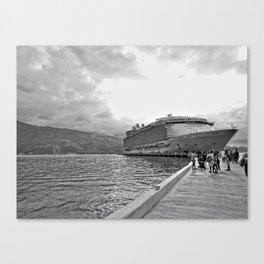 Vacation Transportation Canvas Print