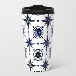 Nautica Blue Travel Mug