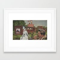 hot dog Framed Art Prints featuring Hot Dog by Jon Duci