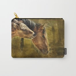 Horsing Around No. 2 - Pryor Mustangs Carry-All Pouch