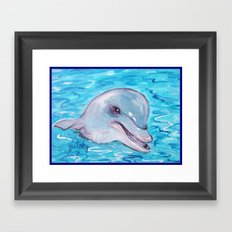 Dolphin 2 Framed Art Print
