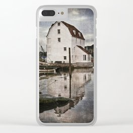 Woodbridge Tide Mill Clear iPhone Case