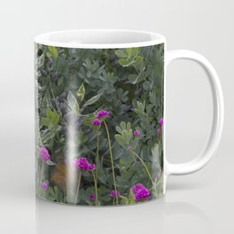 Flower Power: Violets. Coffee Mug