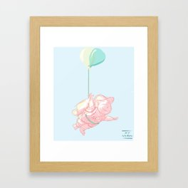 I can touch the sky Framed Art Print