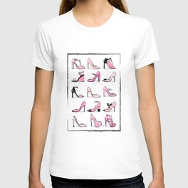 Pink Shoes T-shirt