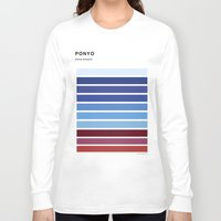 ponyo Long Sleeve T-shirts featuring The colors of - Ponyo by hyos