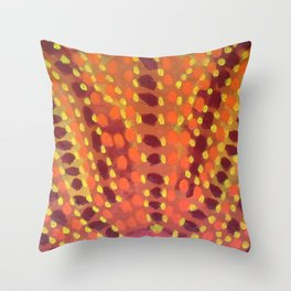 Fire and Flames Throw Pillow