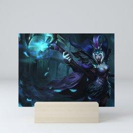 Ravenborn LeBlanc League of Legends Mini Art Print