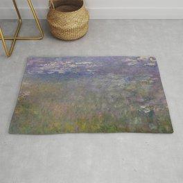 Monet, Water Lilies, 1915-1926 Rug