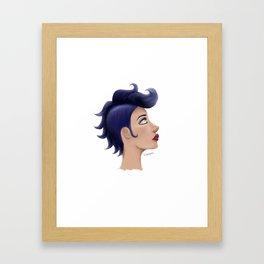 BluHawk Framed Art Print