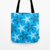 starfish Tote Bags featuring Starfish by Dana Martin