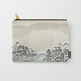 Snowy Hills Japan Carry-All Pouch