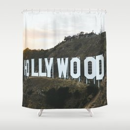 Hollywood Sign (Los Angeles, CA) Shower Curtain