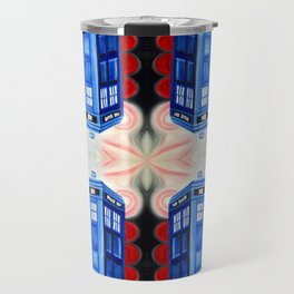 British Blue Police Public Call Box - Nexus 16 Travel Mug