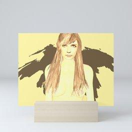 Russia she Mini Art Print
