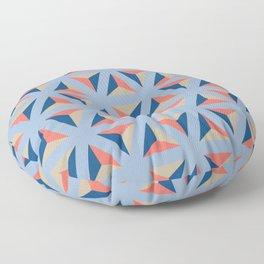 Library ceramic tile pattern Floor Pillow