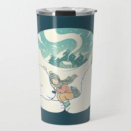 Cozy Winter Travel Mug