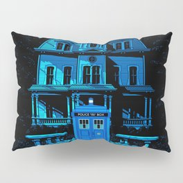 Tardis Horror Castle Pillow Sham