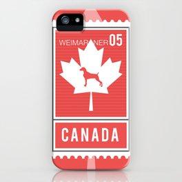 CANADA WEIM STAMP iPhone Case