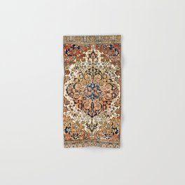 Ferahan Arak  Antique West Persian Rug Print Hand & Bath Towel
