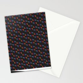 Parallel Lines Colourful #2 Stationery Cards