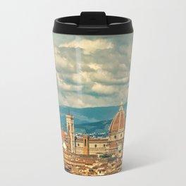 Duomo in Florence Skyline Travel Mug