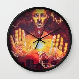 Karmic Burn Wall Clock
