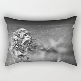 the king of Lowertown Rectangular Pillow