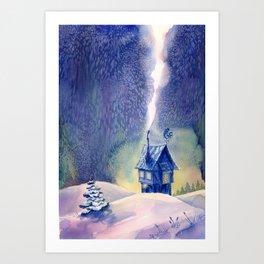 New Year's Eve Art Print