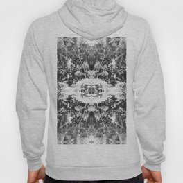 Black n White Boho Pattern Hoody