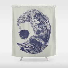 Pugs Dogs Funny Shower Curtain