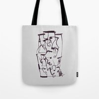dirty dancing Tote Bags featuring Dirty by 5wingerone