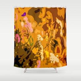 Autumn bouquet wildflowers #decor #society6 Shower Curtain