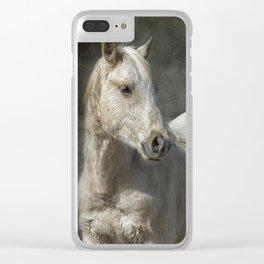 Traveler Portrait No 1 Clear iPhone Case