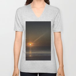 Breaking Dawn Daytona Beach Unisex V-Neck