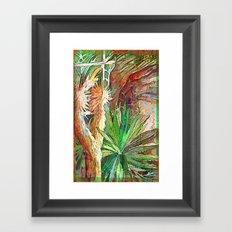 Desert Heat Framed Art Print