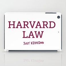 Harvard Law iPad Case