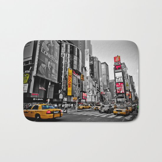Times Square - Hyper Drop Bath Mat