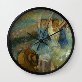 "Edgar Degas ""The ballet"" Wall Clock"