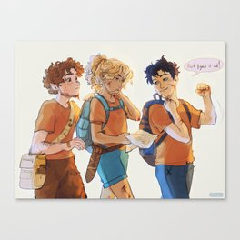 Trio on a quest Canvas Print