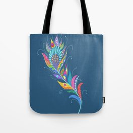 One Feather ... One World Tote Bag