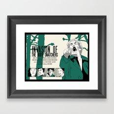Invasion of The Body Snatchers Framed Art Print