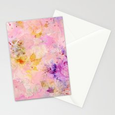roses sorbet Stationery Cards
