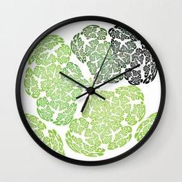 Brainforest Canopy Wall Clock