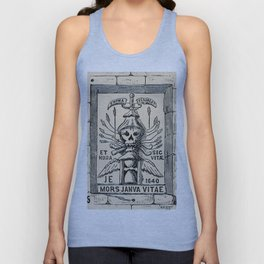 Sun dials and roses of yesterday Unisex Tank Top