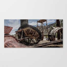 Rusted ambition Canvas Print