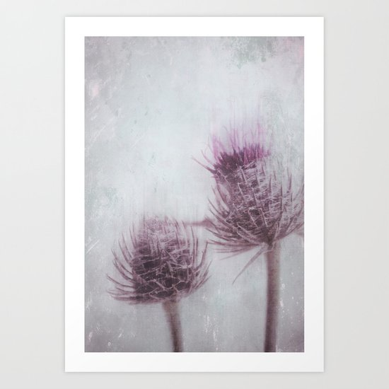 in between Art Print