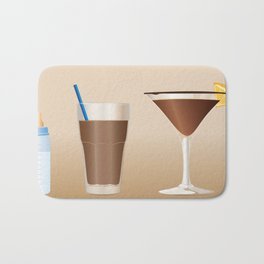 Milk to Martini Bath Mat