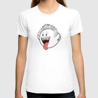 boob T-shirts featuring Boo Einstein by Olechka